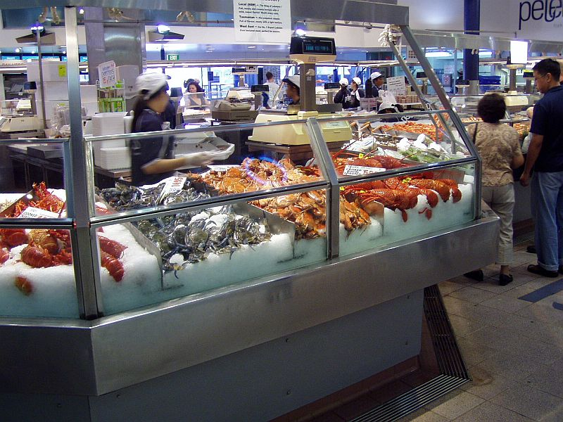 Sydney fish markets jj on the go for Jj fish and chips