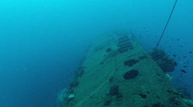 Townsville and Diving the Yongala Wreck