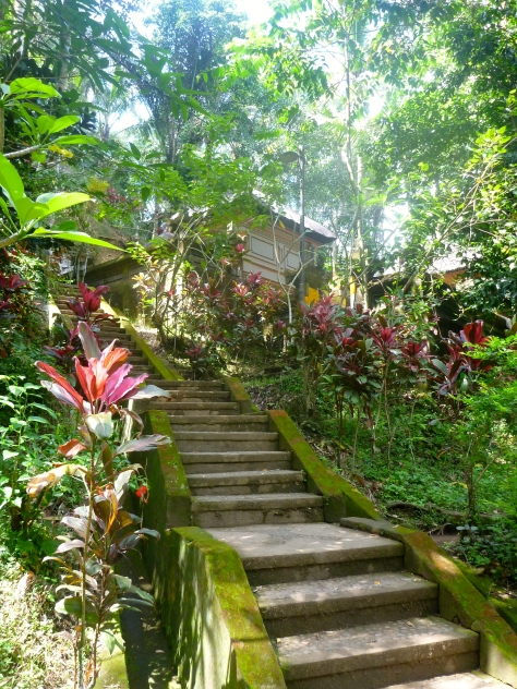 Stairs to the Hindu Temple