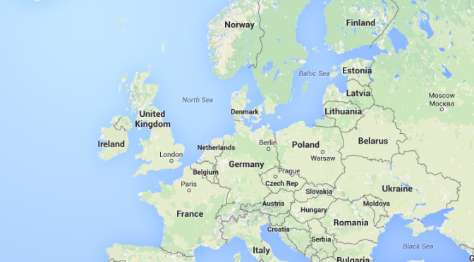 Planning extended travel in Europe – and my arrival ... on my country map, my weather map, my travel map,